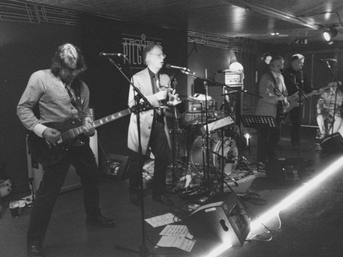 Trouble Pilgrims-Tony St Ledger, Stephen Rapid, Johnny Bonnie, Bren Lynott and Pete Holidai